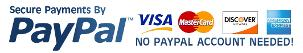 bluesky accepts, visa, mastercard, paypal gel polish express checkout